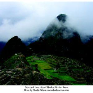 Mystical Inca City Postcard